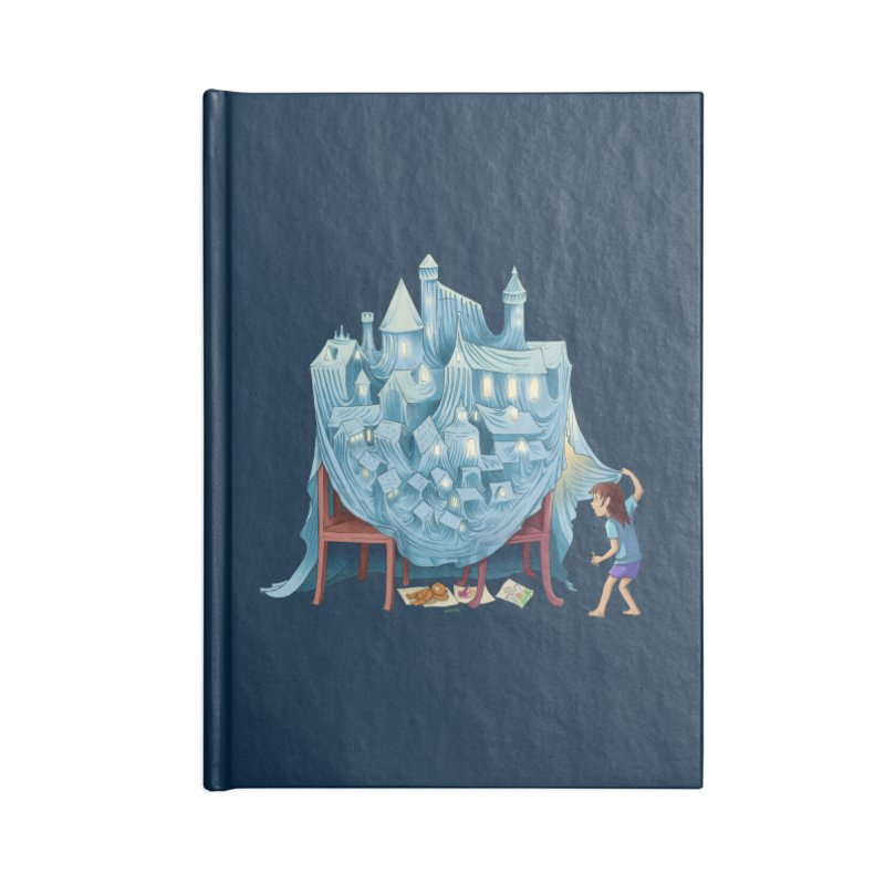 The Perfect Chair Fort Accessories Lined Journal Notebook by finkenstein's Artist Shop
