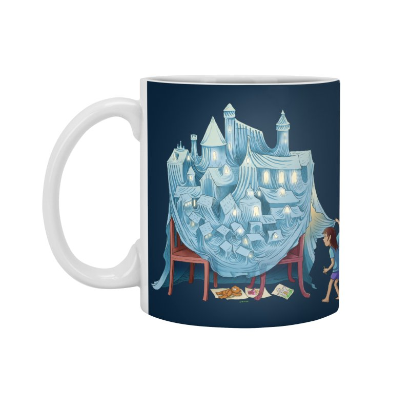 The Perfect Chair Fort Accessories Mug by finkenstein's Artist Shop