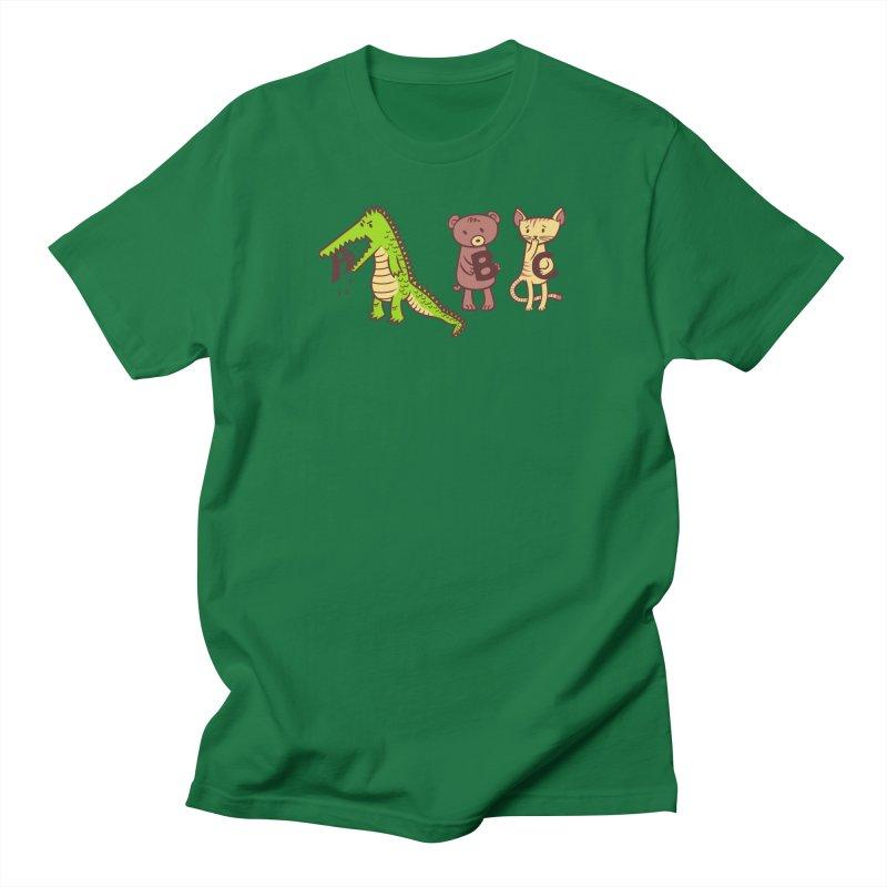 A is for Jerks Men's T-Shirt by finkenstein's Artist Shop