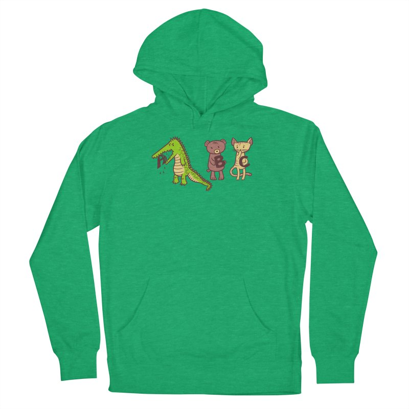 A is for Jerks Women's French Terry Pullover Hoody by finkenstein's Artist Shop
