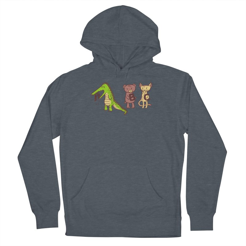A is for Jerks Men's French Terry Pullover Hoody by finkenstein's Artist Shop