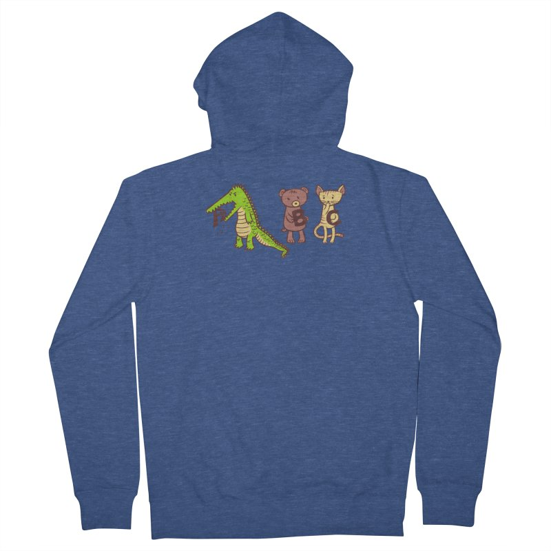 A is for Jerks Men's Zip-Up Hoody by finkenstein's Artist Shop