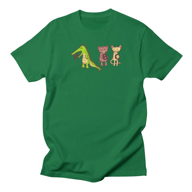 A is for Jerks Men's Regular T-Shirt by finkenstein's Artist Shop