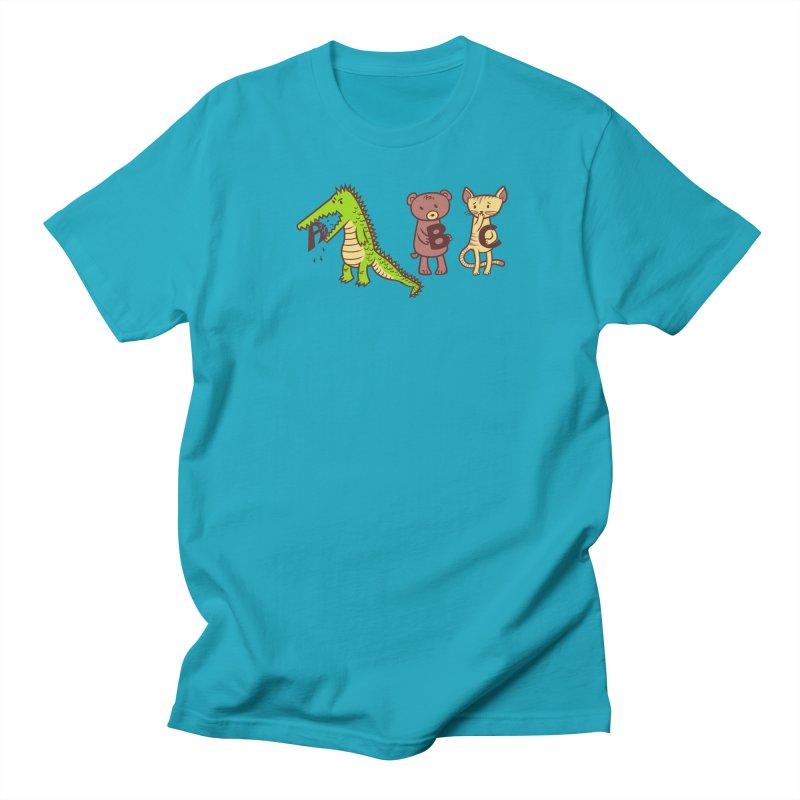 A is for Jerks Women's Regular Unisex T-Shirt by finkenstein's Artist Shop