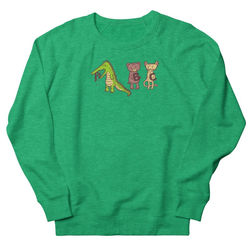 A is for Jerks Women's French Terry Sweatshirt by finkenstein's Artist Shop