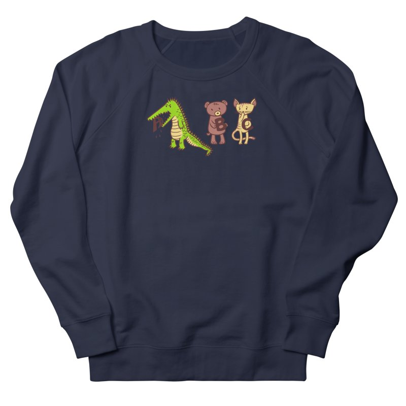A is for Jerks Men's French Terry Sweatshirt by finkenstein's Artist Shop