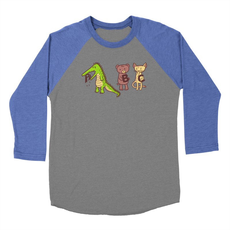 A is for Jerks Men's Baseball Triblend Longsleeve T-Shirt by finkenstein's Artist Shop