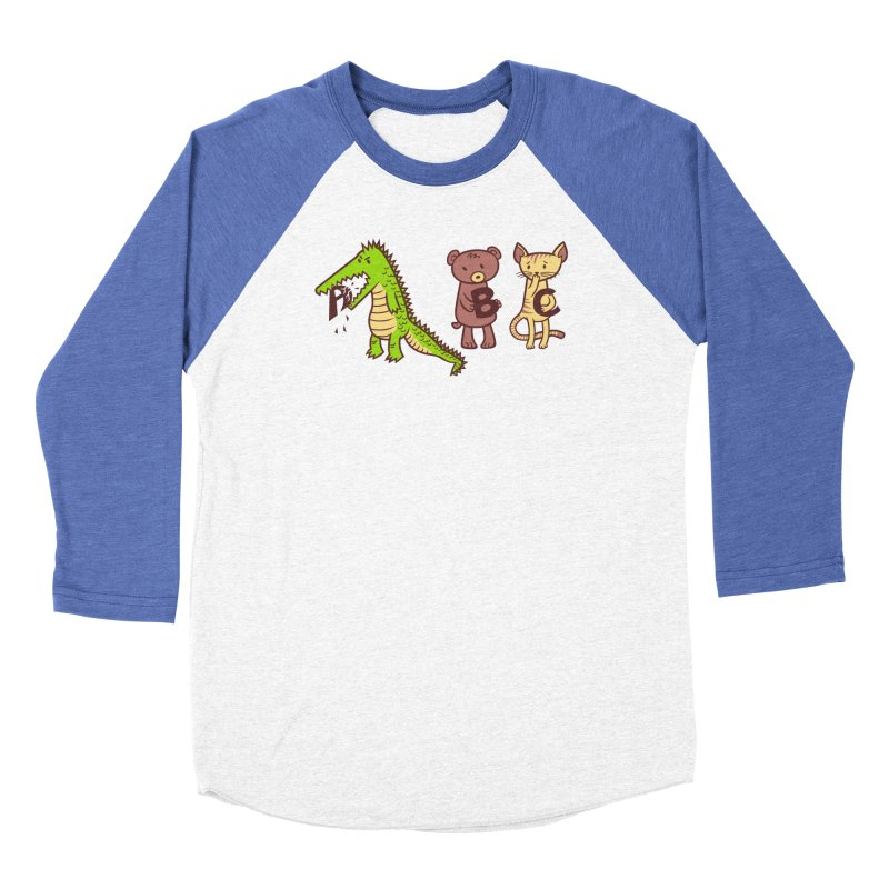 A is for Jerks Men's Baseball Triblend Longsleeve T-Shirt by finkenstein's Artist Shop