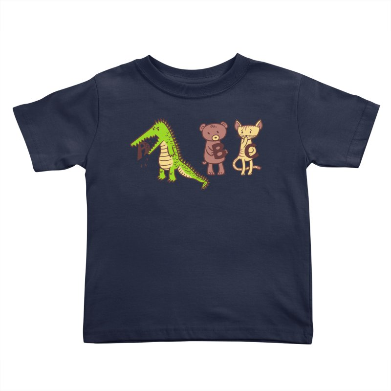 A is for Jerks Kids Toddler T-Shirt by finkenstein's Artist Shop
