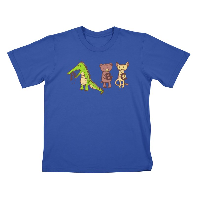 A is for Jerks Kids T-Shirt by finkenstein's Artist Shop