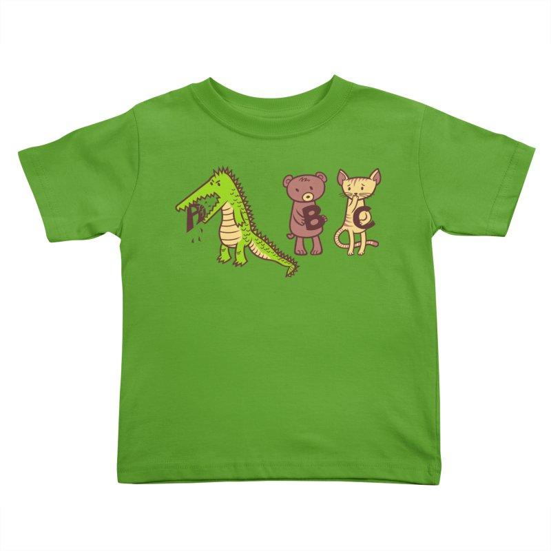 A is for Jerks Kids Toddler T-Shirt by finkenstein's Artist Shop