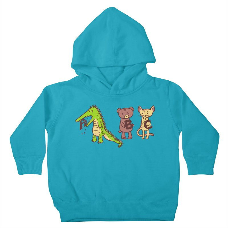 A is for Jerks Kids Toddler Pullover Hoody by finkenstein's Artist Shop