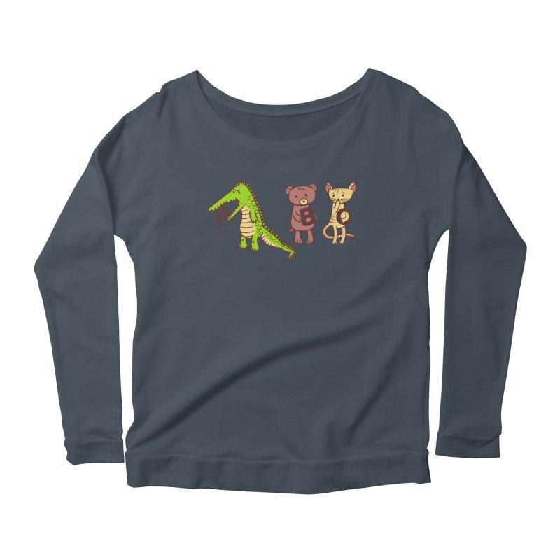 A is for Jerks Women's Longsleeve T-Shirt by finkenstein's Artist Shop
