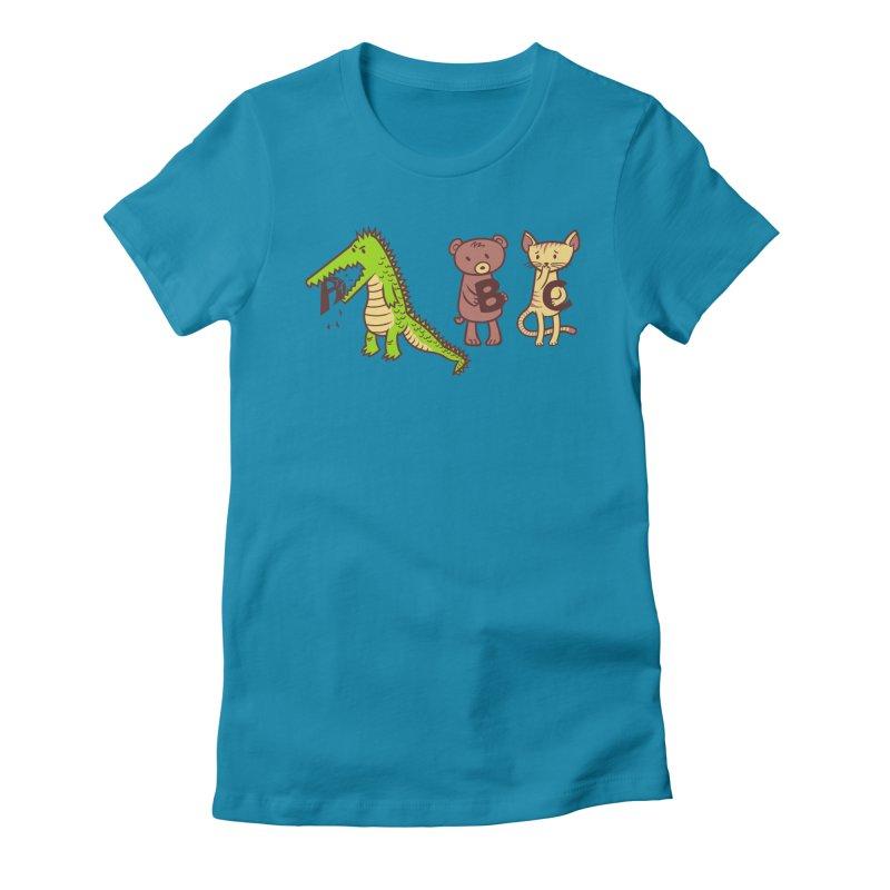A is for Jerks Women's T-Shirt by finkenstein's Artist Shop