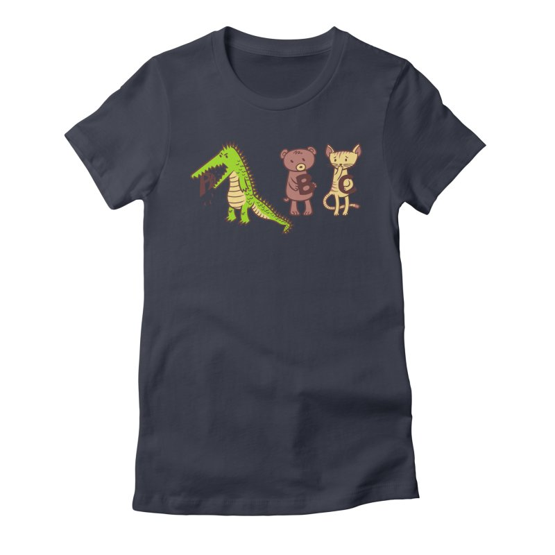 A is for Jerks Women's T-Shirt by finkenstein's Artist Shop