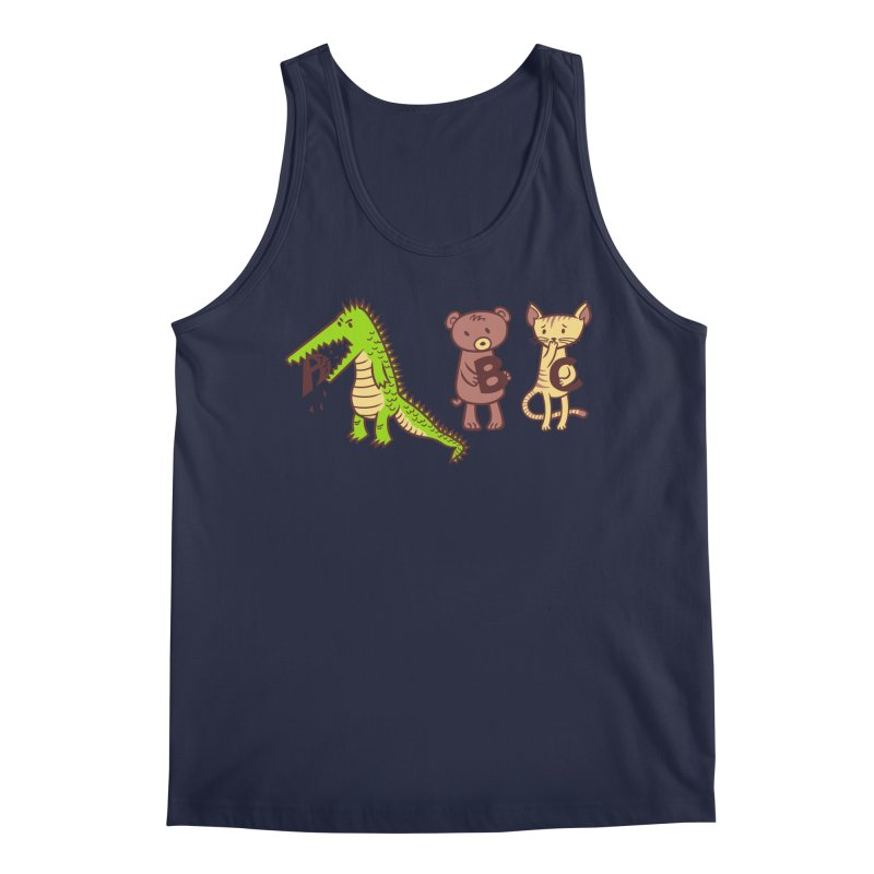 A is for Jerks Men's Regular Tank by finkenstein's Artist Shop