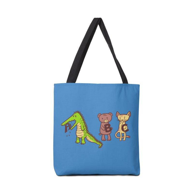 A is for Jerks Accessories Bag by finkenstein's Artist Shop