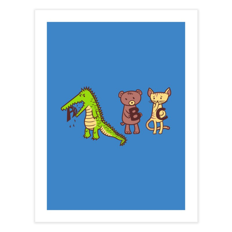 A is for Jerks Home Fine Art Print by finkenstein's Artist Shop