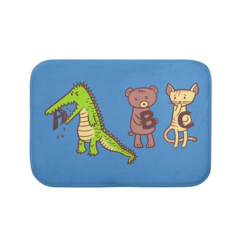 A is for Jerks Home Bath Mat by finkenstein's Artist Shop