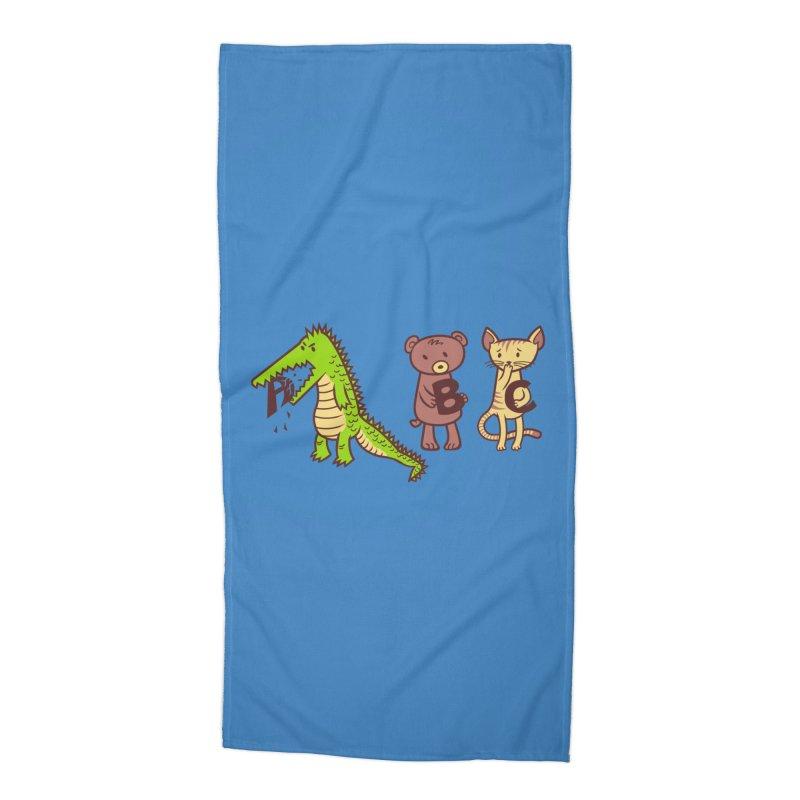 A is for Jerks Accessories Beach Towel by finkenstein's Artist Shop
