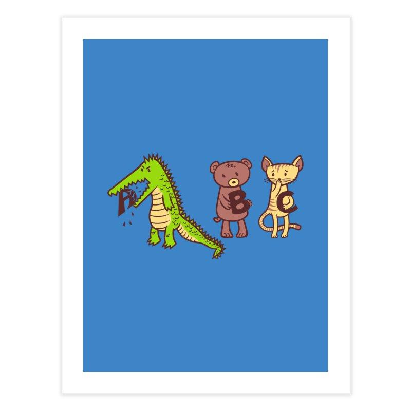 A is for Jerks Home Fine Art Print by finkenstein's Artist Shop