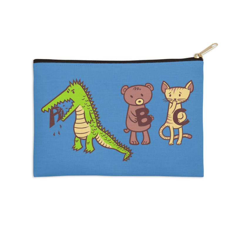 A is for Jerks Accessories Zip Pouch by finkenstein's Artist Shop