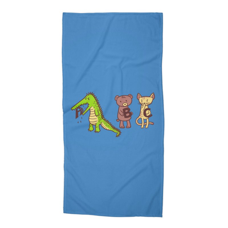 A is for Jerks Accessories Beach Towel by finkenstein's Artist Shop