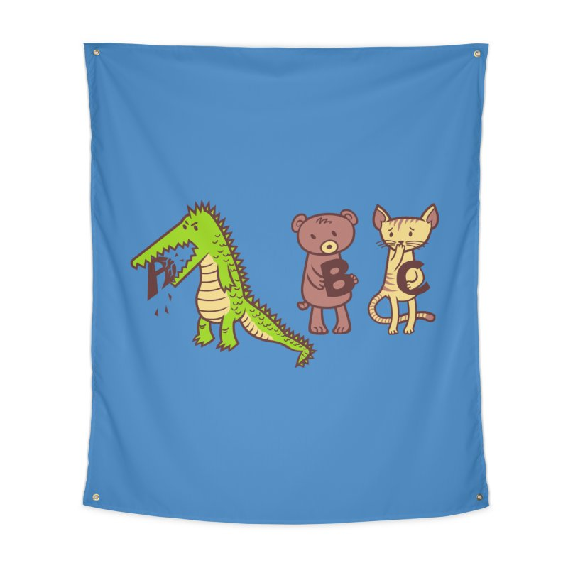A is for Jerks Home Tapestry by finkenstein's Artist Shop