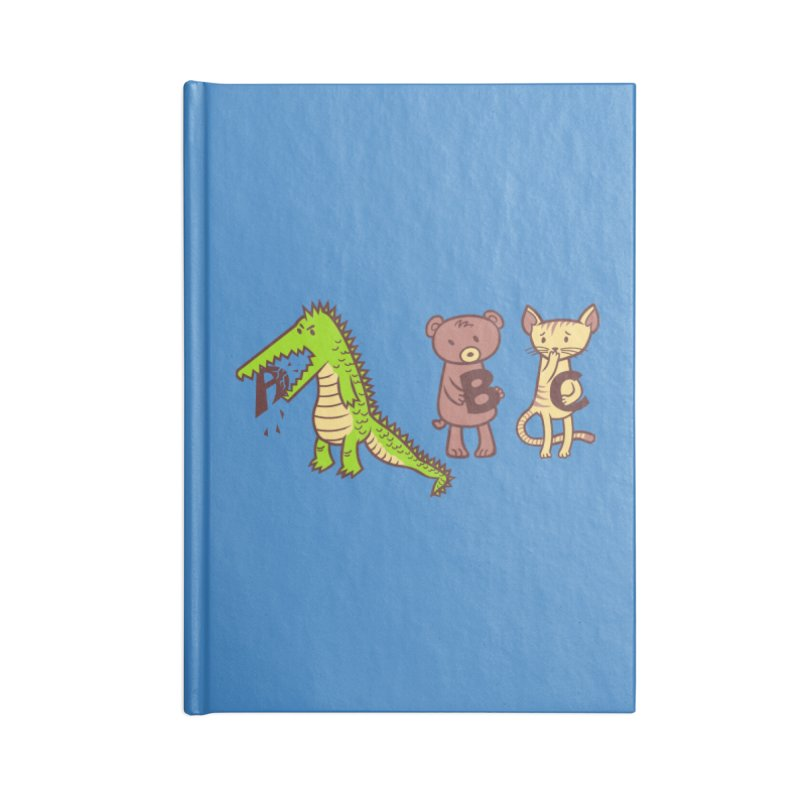 A is for Jerks Accessories Lined Journal Notebook by finkenstein's Artist Shop