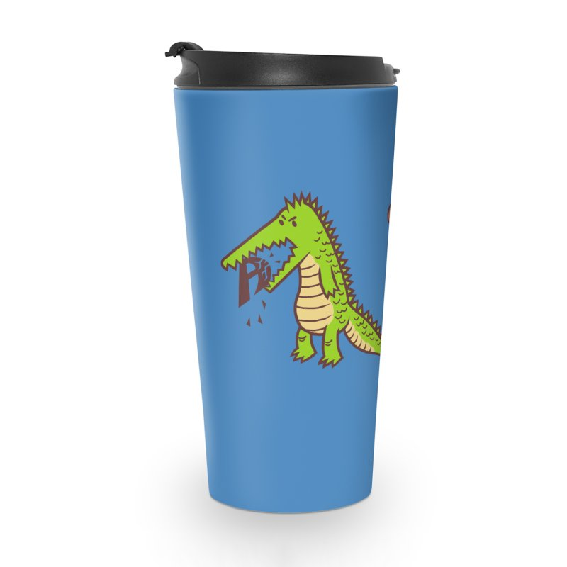 A is for Jerks Accessories Travel Mug by finkenstein's Artist Shop