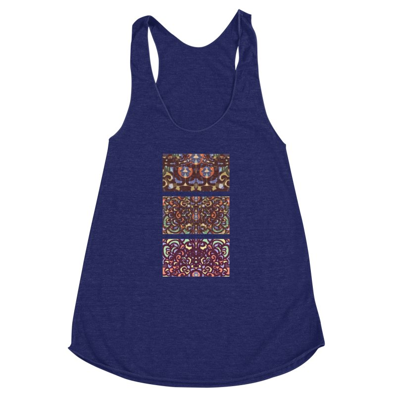 "Image #2 from music video for song - ""Moonfire"" Women's Racerback Triblend Tank by fireawaymarmotproductions's Artist Shop"