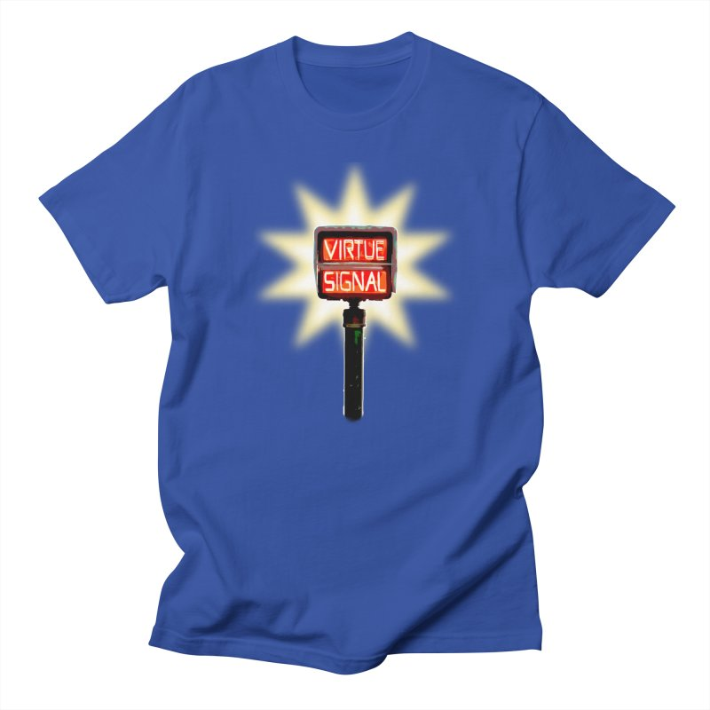 Virtue Signal Men's T-Shirt by fireawaymarmotproductions's Artist Shop