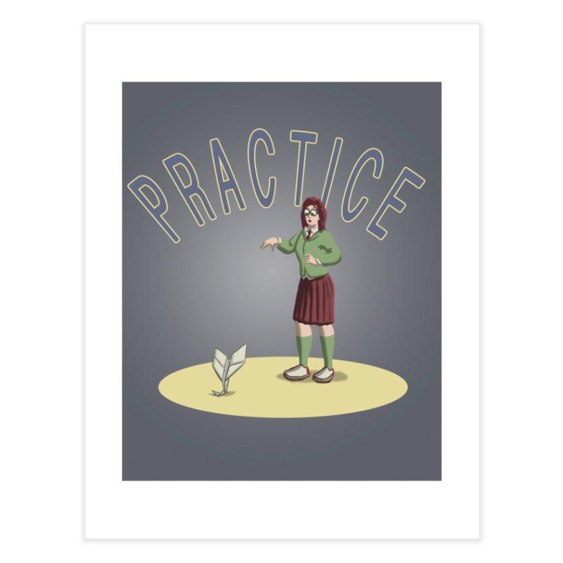 PRACTICE Home Fine Art Print by fireawaymarmotproductions's Artist Shop
