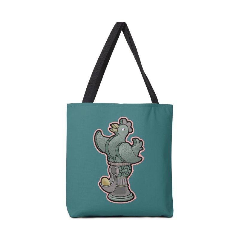 EGG MACHINE Accessories Tote Bag Bag by fireawaymarmotproductions's Artist Shop