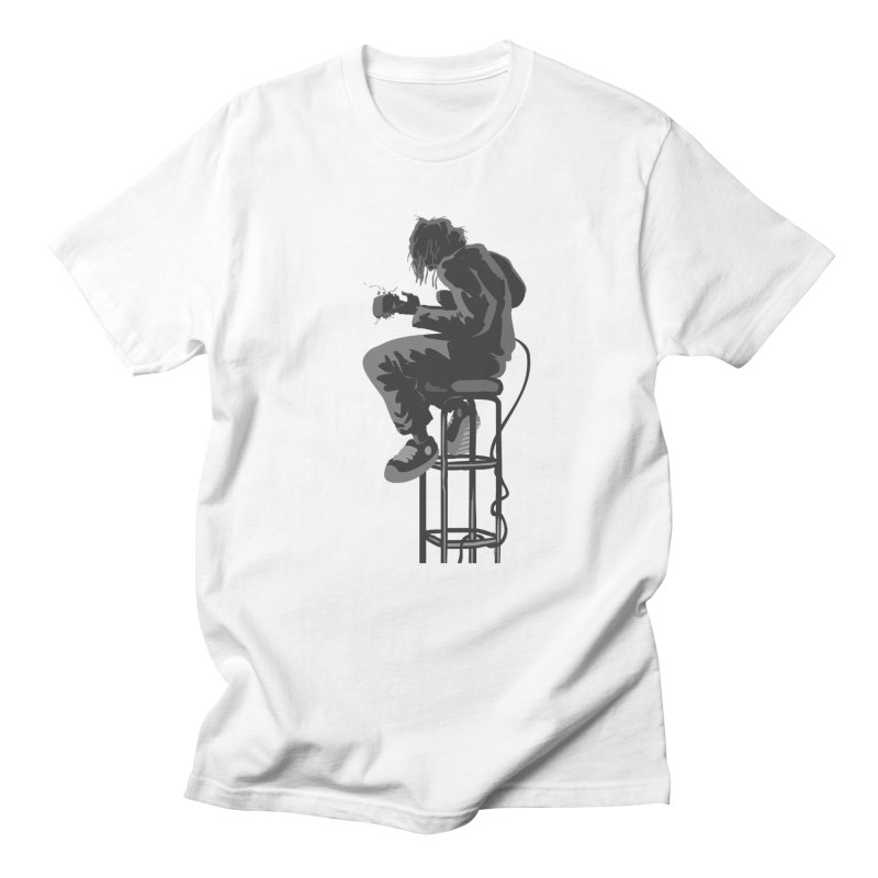 Guitar Player Men's T-Shirt by fireawaymarmotproductions's Artist Shop