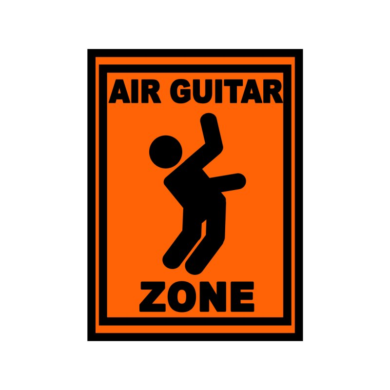 Air Guitar None  by fireawaymarmotproductions's Artist Shop