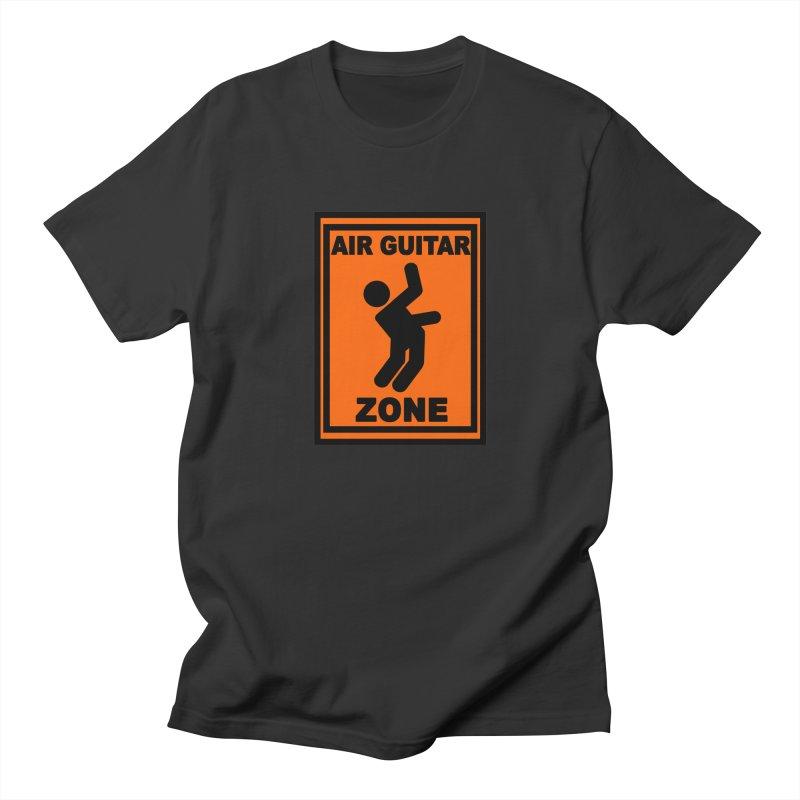Air Guitar Men's T-Shirt by fireawaymarmotproductions's Artist Shop