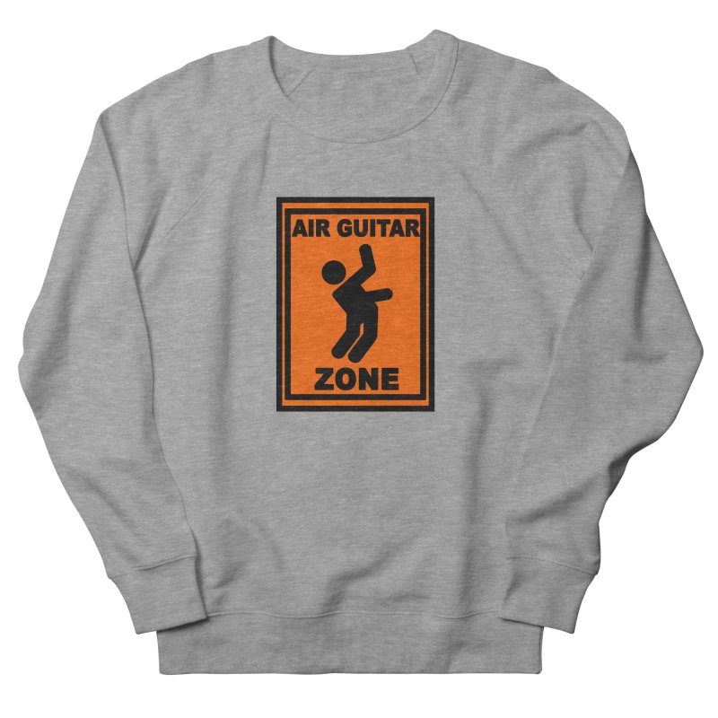 Air Guitar Men's Sweatshirt by fireawaymarmotproductions's Artist Shop