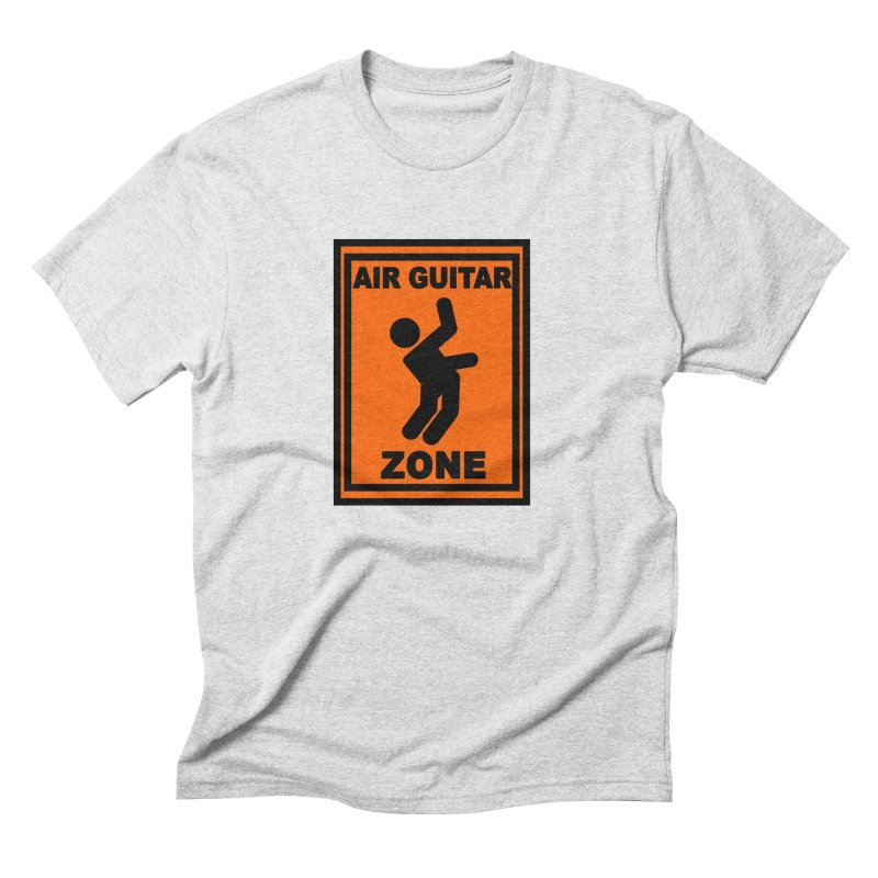 Air Guitar Men's Triblend T-Shirt by fireawaymarmotproductions's Artist Shop