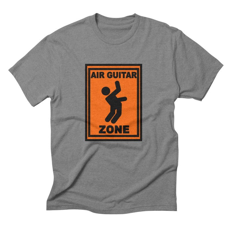 Air Guitar Men's Triblend T-shirt by fireawaymarmotproductions's Artist Shop