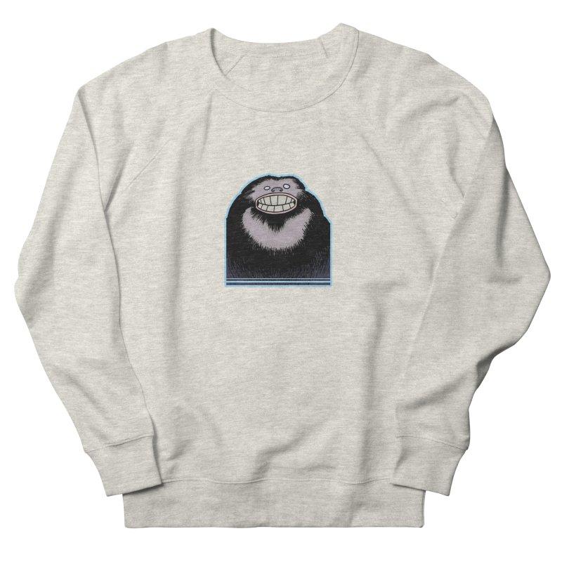 bigfoot Men's French Terry Sweatshirt by fireawaymarmotproductions's Artist Shop