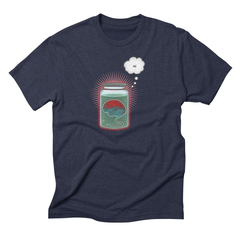 Just Because I'm a Brain In a Jar Doesn't Mean We Can't Be Friends Men's Triblend T-Shirt by fireawaymarmotproductions's Artist Shop