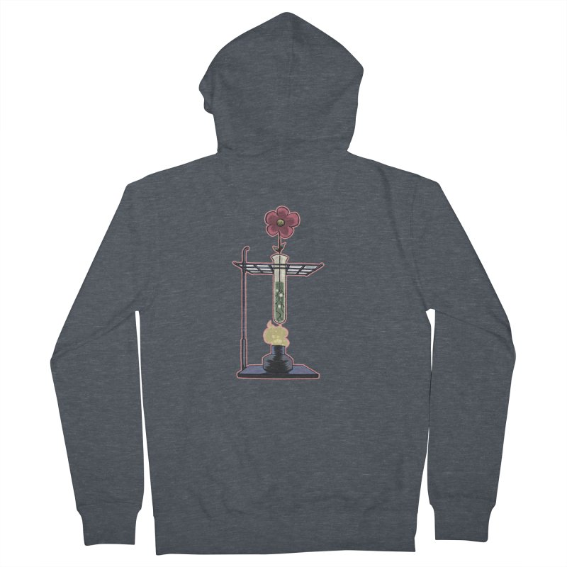 Bunsen Burner Flower Women's Zip-Up Hoody by fireawaymarmotproductions's Artist Shop