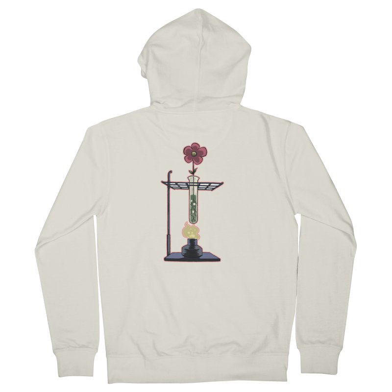 Bunsen Burner Flower Men's Zip-Up Hoody by fireawaymarmotproductions's Artist Shop