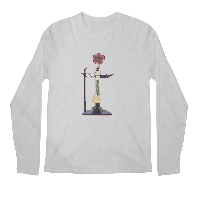 Bunsen Burner Flower Men's Longsleeve T-Shirt by fireawaymarmotproductions's Artist Shop