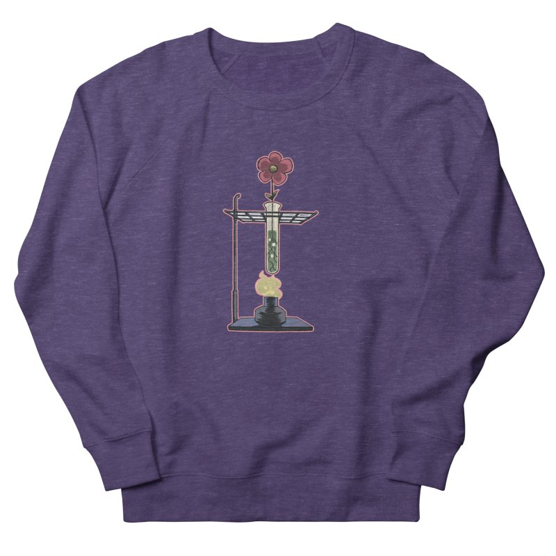 Bunsen Burner Flower Women's Sweatshirt by fireawaymarmotproductions's Artist Shop