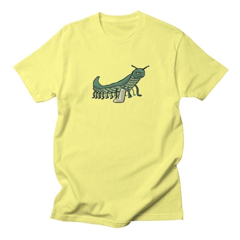Broken Leg Caterpillar Men's T-Shirt by fireawaymarmotproductions's Artist Shop