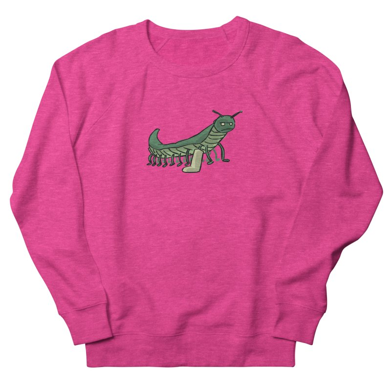 Broken Leg Caterpillar Women's Sweatshirt by fireawaymarmotproductions's Artist Shop