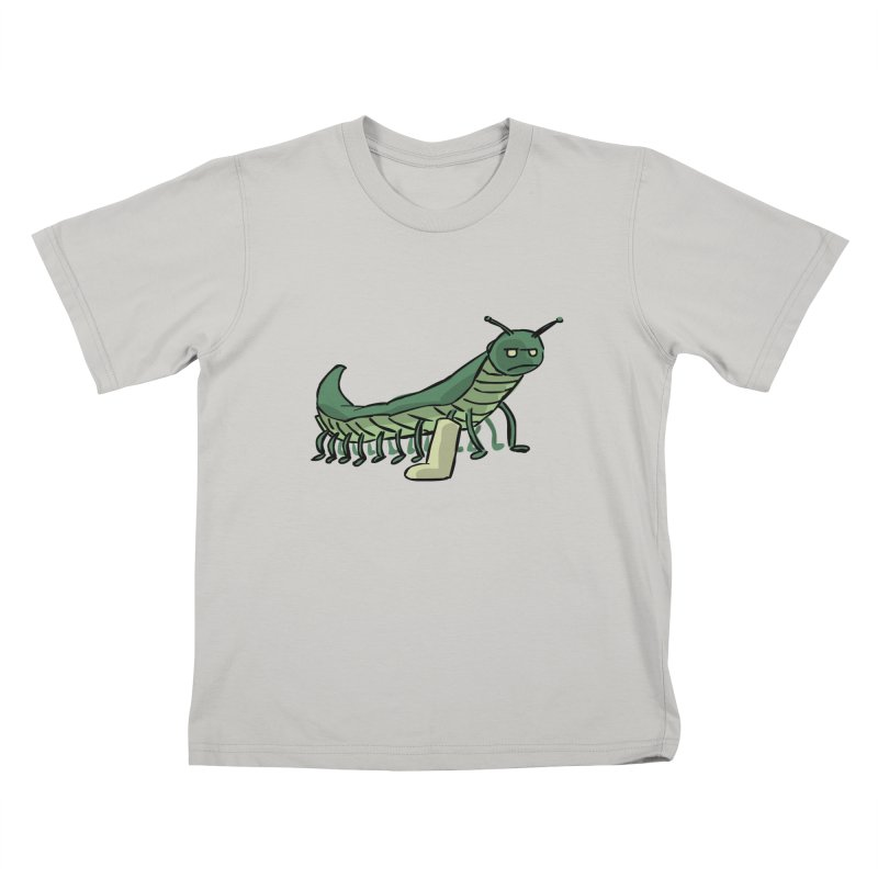 Broken Leg Caterpillar Kids T-Shirt by fireawaymarmotproductions's Artist Shop
