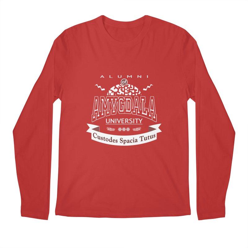 Amygdala University Men's Regular Longsleeve T-Shirt by fireawaymarmotproductions's Artist Shop